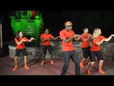 Learn the dance steps for the party's new line dance at Mickey's-Not-So Scary-Halloween Party!