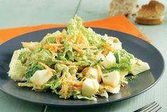 Δροσερή σαλάτα Salad Recipes, Healthy Recipes, Food Categories, Salad Bar, Greek Recipes, Burritos, Potato Salad, Cabbage, Salads