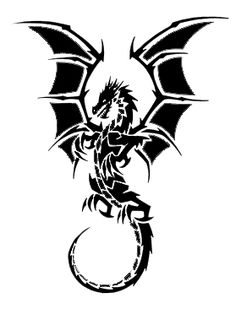 dragon tattoo by b100draven.deviantart.com on @deviantART