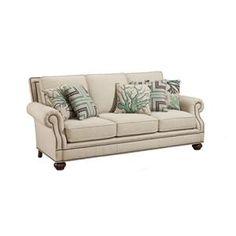 Harden Furniture Upholstery Sofa 8646 090 Mattress Traditional