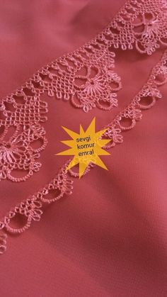 This post was discovered by Leyla Kopuz. Discover (and save!) your own Posts on Unirazi. Crochet Yarn, Crochet Flowers, Lace Art, Yarn Thread, Point Lace, Crochet Borders, Tatting Patterns, Needle Lace, Lace Making