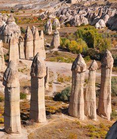 Love valley - Cappadocia.
