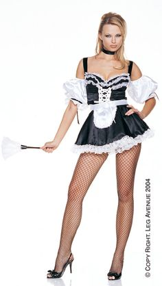 French Maid Plus, Leg Avenue, Sexy Costumes French Maid Dress, French Maid Uniform, French Maid Costume, Sexy Costumes For Women, Sexy Halloween Costumes, Costumes Uk, Abba Costumes, Fantasy Costumes, Cosplay Costumes