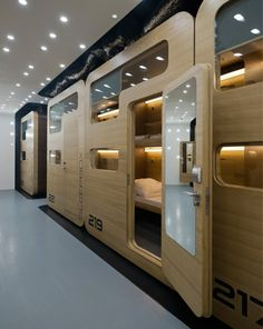 Sleepbox, Moscow, Russia.