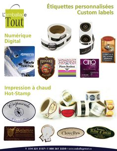 custom labels customized labels custom stickers stickers to customize lemballage tout offers products that fits you