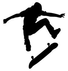 skateboarding silhouette - Google Search