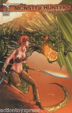 Zenescope Entertainment The Monster Hunters Survival Guide #5: Fantasy Creatures