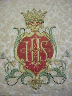 January 3: IHS  Holy Name of Jesus