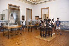 Pormenor da visita ao Museu da Cidade. (Fotografia de Jorge Carvalho, 2014)