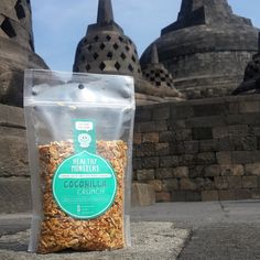 Healthy Monsters - Granola Packaging #clearpackaging curated by Copious Bags