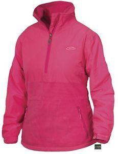 c062c73e4a496 Drake Women's 1/4 Zip Eqwader Jacket-DL3781-Coral Camo Jacket, Hooded