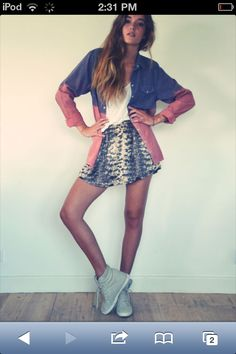 Cute hipster outfit:)