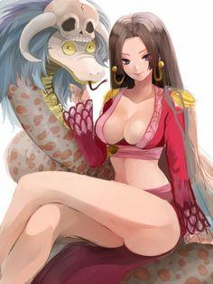Boa Hancock,Shichibukai - One Piece,Anime