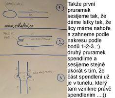 Paní Libka Froňková si pro Vás připravila foto návod na výrobu Kolové vestičky či kabátku (záleží zda přidáte rukávy)