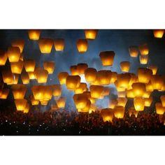 Lanterne volanti!