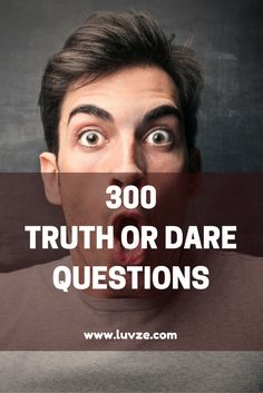300 fun truth or dare questions. truth n dare, funny truth or dare, Truth N Dare, Funny Truth Or Dare, Good Truth Or Dares, Truth Or Dare Games, Dare Game Questions, Questions For Friends, This Or That Questions, Couple Questions, Flirting Quotes For Her