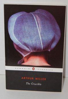 The Crucible by Arhur Miller Penguin Classics Paperback Book