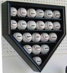 baseball holder - how awesome is this!