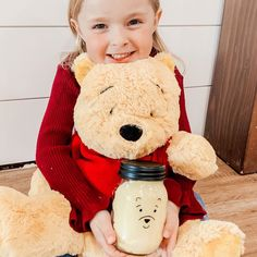 """Roberts Family on Instagram: """"WINNIE THE POOH HONEY SLIME RECIPE 🍯  This morning our Winnie the Pooh had the """"Rumbly in his Tumbly"""" - We helped fill his tummy with some…"""" Winnie The Pooh Honey, Adventures By Disney, Slime Recipe, Fill, Crafts For Kids, Teddy Bear, Toys, Animals, Instagram"""
