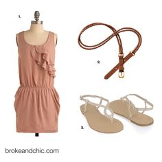 A cute & cheap outfit for summer!