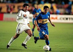 Figo vs Riquelme en la final de la Copa Intercontinental del año 2000