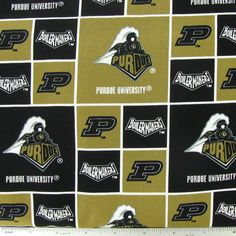 Purdue Block Collegiate Cotton Fabric Purdue University, Fabric Online, Cotton Fabric, Sewing, Couture, Fabric Sewing, Sew, Stitching, Costura