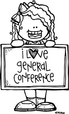 general conference 2014 coloring pages | Melonheadz LDS illustrating: General Conference ...