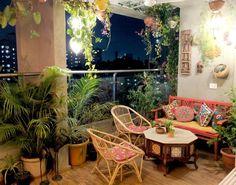 groß Ein Balkongarten in Mumbai: Terrace Reveal - Dekoration Site / 2019 Small Balcony Garden, Small Balcony Decor, Balcony Design, Balcony Gardening, Garden Design, Indoor Balcony, Balcony Plants, Terrace Garden, House Plants