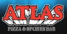 Atlas Pizza & Sports Bar  6060 Memorial Drive NE, Calgary  Alberta Good Pizza, Bar, Calgary, Gems, Memories, Logos, Sports, Memoirs, Logo