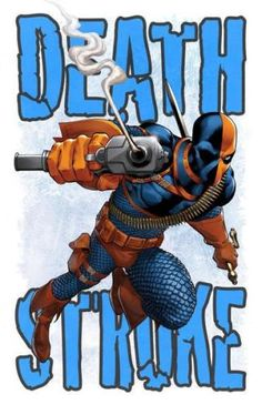 "Deathstroke signed print (11x17"") by Mike S Miller  80lb card stock - $20"