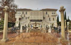 Grand Island Mansion • Rear of Mansion