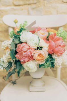 Peonies. ranunculi. roses. Styling: Very Merry Events | Floral Design: Nancy Liu Chin Designs. Photography: Milou & Olin - milouandolin.com