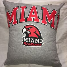 A personal favorite from my Etsy shop https://www.etsy.com/listing/477833348/oxford-ohio-university-tshirt-pillow