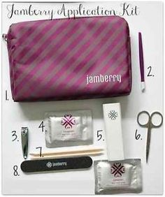 jamberry application kit you can shop on my web site we diretcly shipped your address