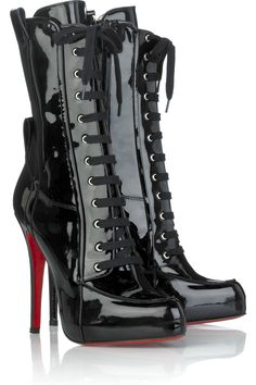 Christian Louboutin They look a little witch/dominatrix-y, but I kind of love them...