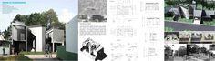 Presentation board - House @ Purwokerto - Design by Akbar Hantar Architects & Associates - 2015