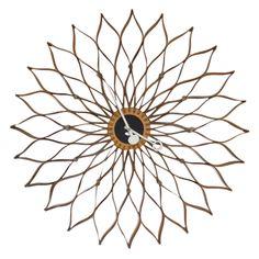 George Nelson Sunflower Clock - 1stdibs
