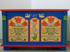 hungarian painted furniture - Google Search