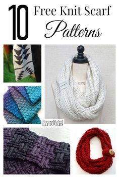 If you are looking for free knitting patterns, here are 10 free knit scarf patterns to try out, with levels ranging from easy to more advanced.