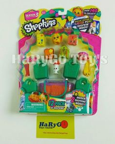 Moose Toys Shopkins Season 3 Special Edition Polished Pearl 12 Pack Very hard to find