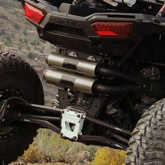 USED POLARIS RZR XP 1000 /'14-17 Exhaust Muffler Heat Shield USED