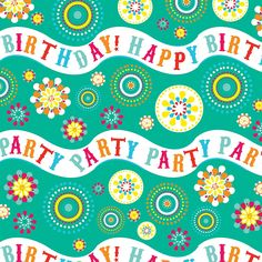 Jillson Roberts Eco-Line Gift Wrap, Birthday Party Wave, 6-Count (R141) -- See this awesome image  : Wrapping Ideas