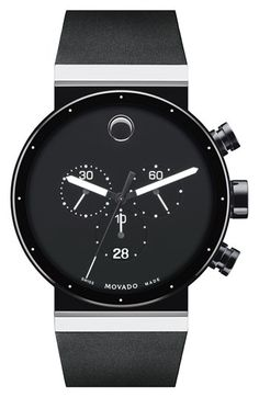 Movado 'Sapphire Synergy' Chronograph Watch, 42mm available at #Nordstrom