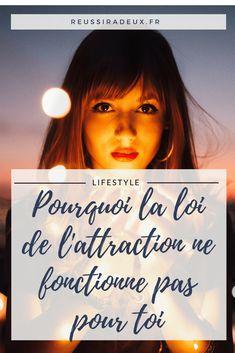 8 raisons pourquoi la loi de l'attraction ne fonctionne pas pour toi #developpement_personnel #loidattraction