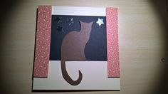 Cat card for mad cat lady Auntie with cat who matches!