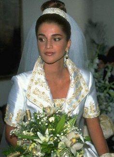 Queen Rania and King Abdullah II of Jordan