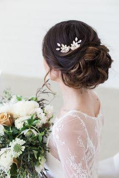 Wedding Bun Hairstyles Ideas