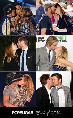 The 52 Sweetest, Sexiest Celebrity PDA Moments of 2014