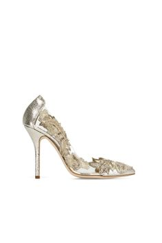 Dream Bridal Shoes to Wear on Your Wedding Day