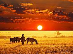 puestas de sol…